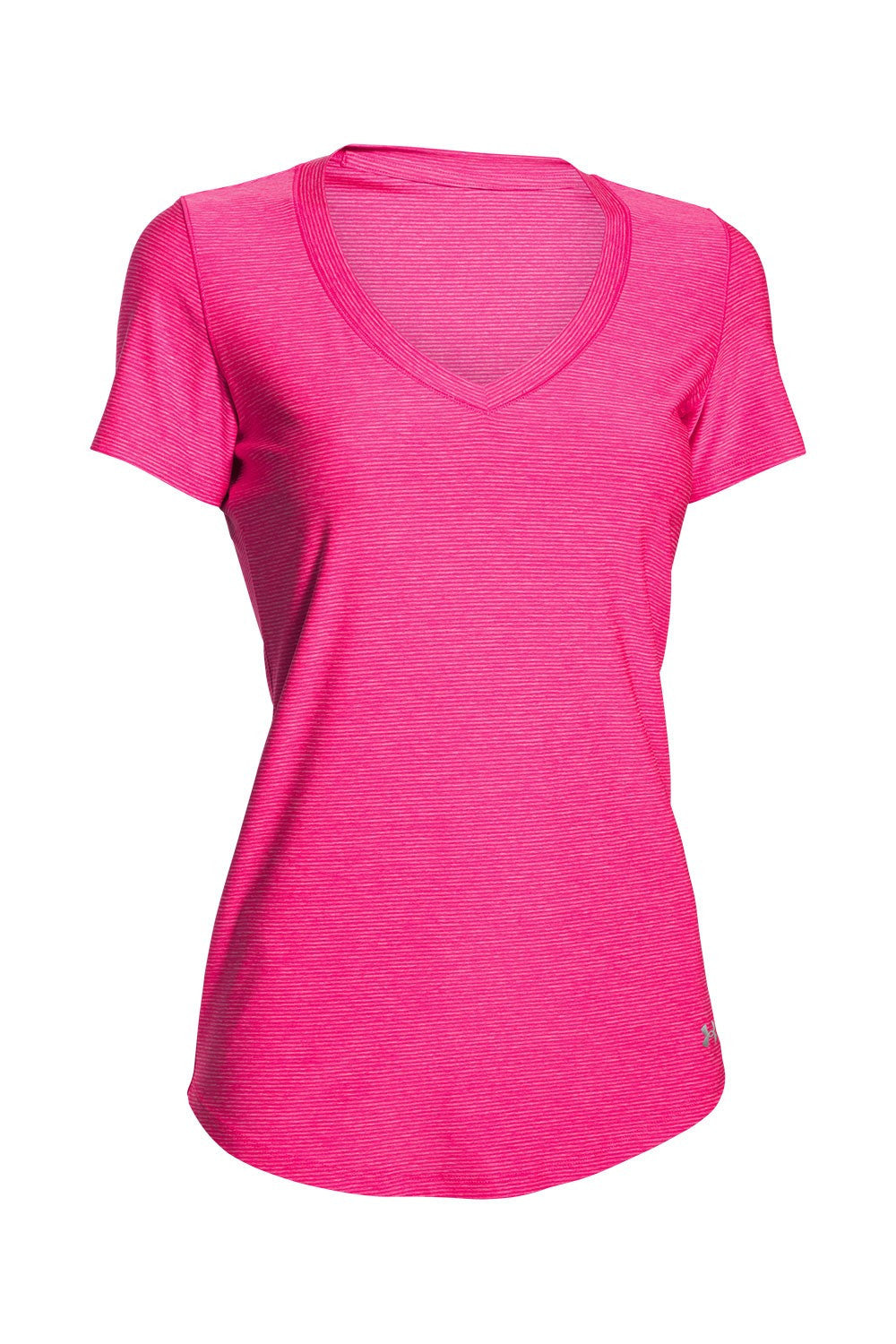 Under Armour Women's Perfect Pace T Rebel Pink 1254026-652