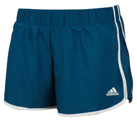 Adidas Women MARATHON 10 Woven Shorts Climalite Training Pants Running AI8115