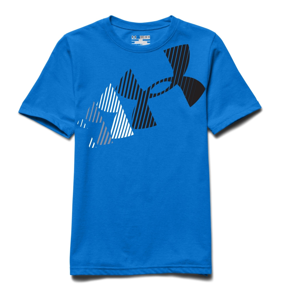 Under Armour Boys' UA Break Script T-Shirt Blue Jet 1264963-405