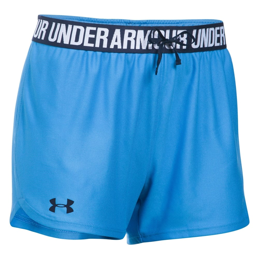 Under Armour Women's Play Up Blue Shorts 1264264-464