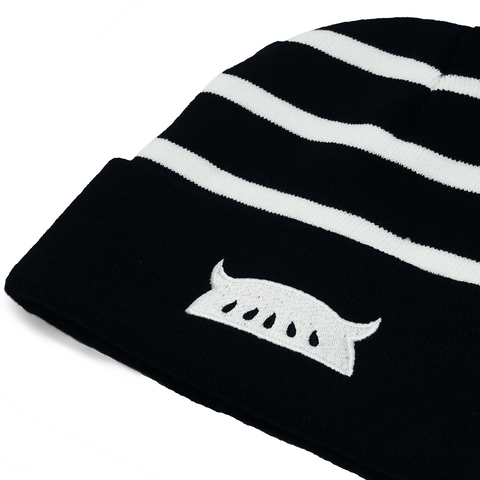 Beanie: LOGO Black and White
