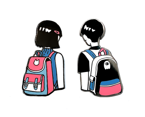 Enamel Pin: Backpack Batch A