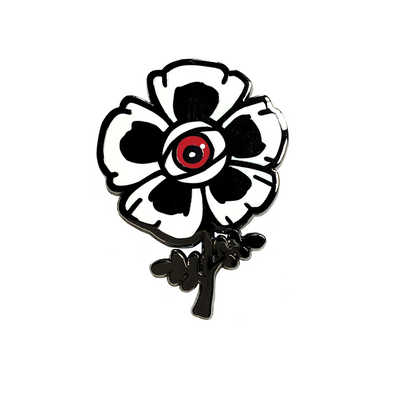 Enamel Pin: Windflower