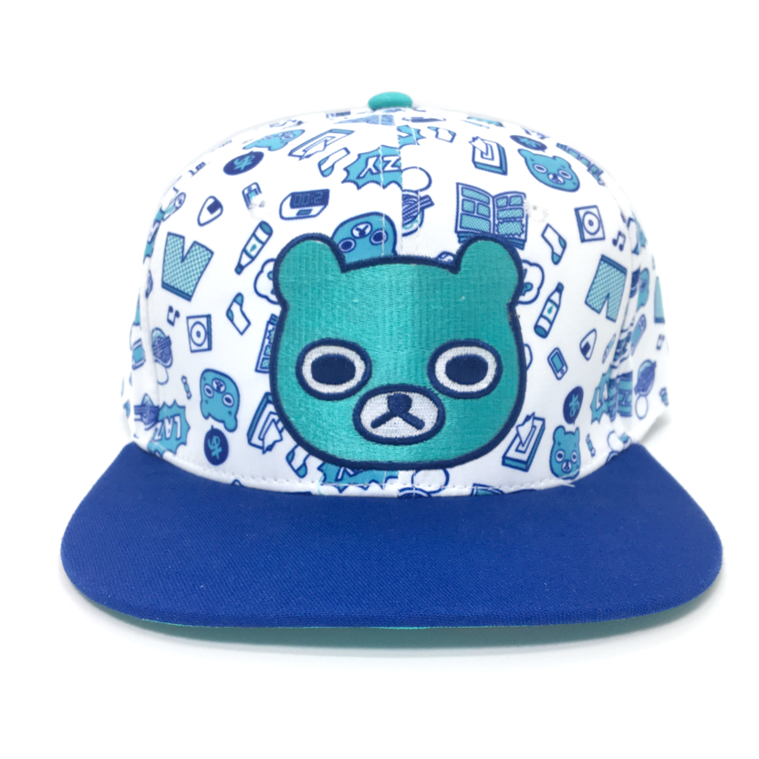 LAZY BEAR Snapback Hat