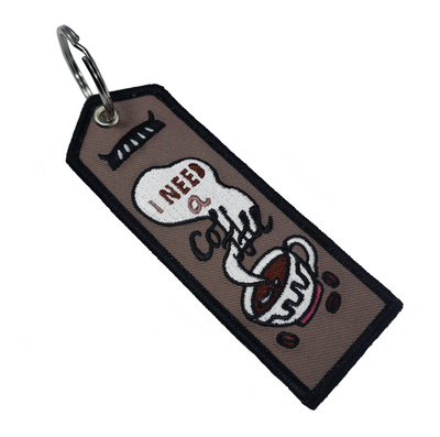 Patch: Coffee Boy Keyring