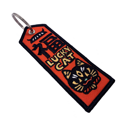 Patch: Lucky Cat Keyring