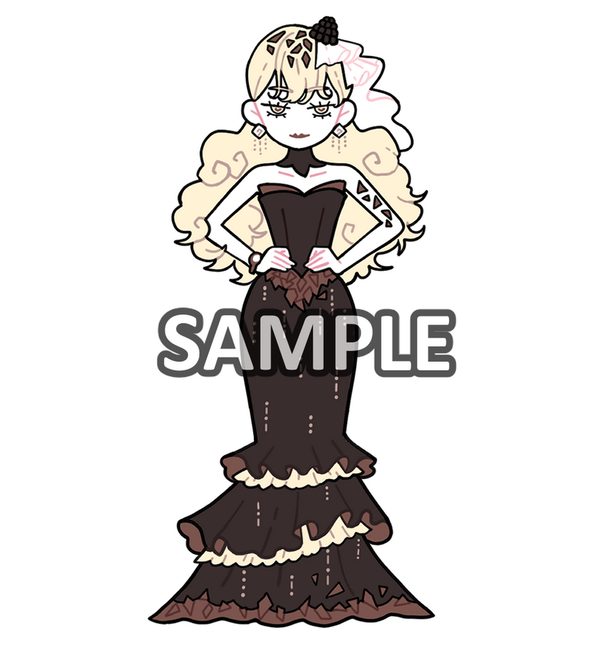 Sticker: Champagne Chocolate