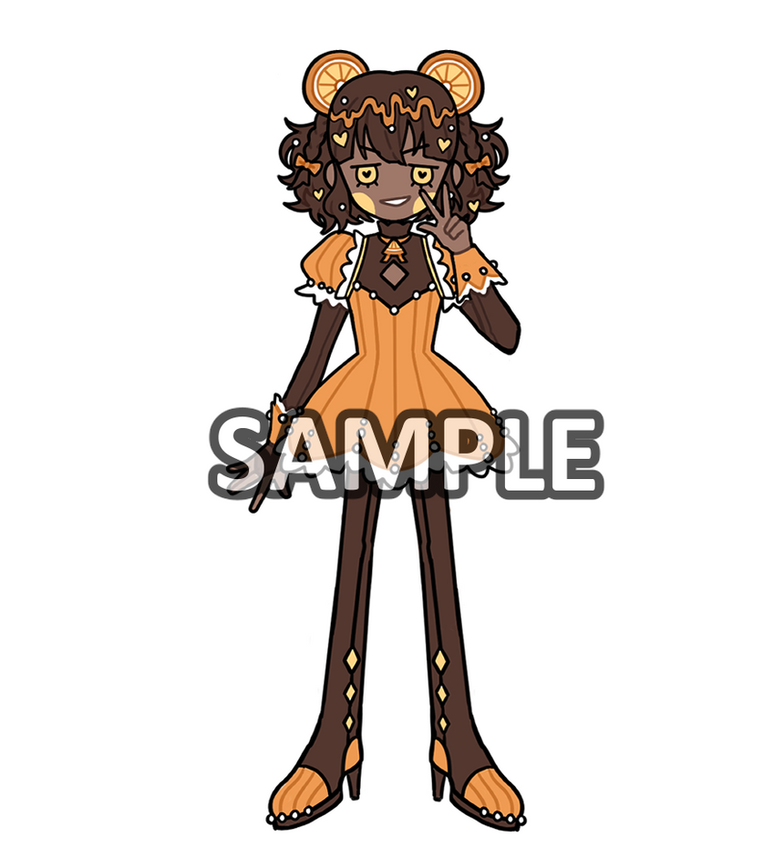 Sticker: Orange Chocolate