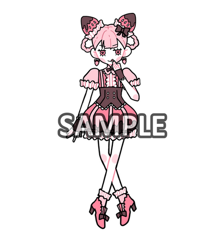 Sticker: Chocolate Strawberry