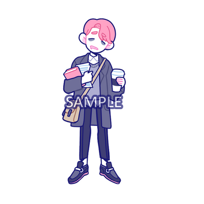 Sticker: Coffee Boy