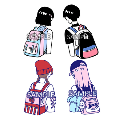 Sticker: BackPack