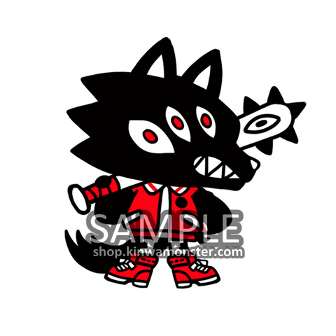 Sticker: CHIBI BIG BAD