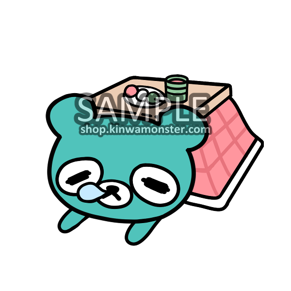 Sticker: LAZY KOTATSU