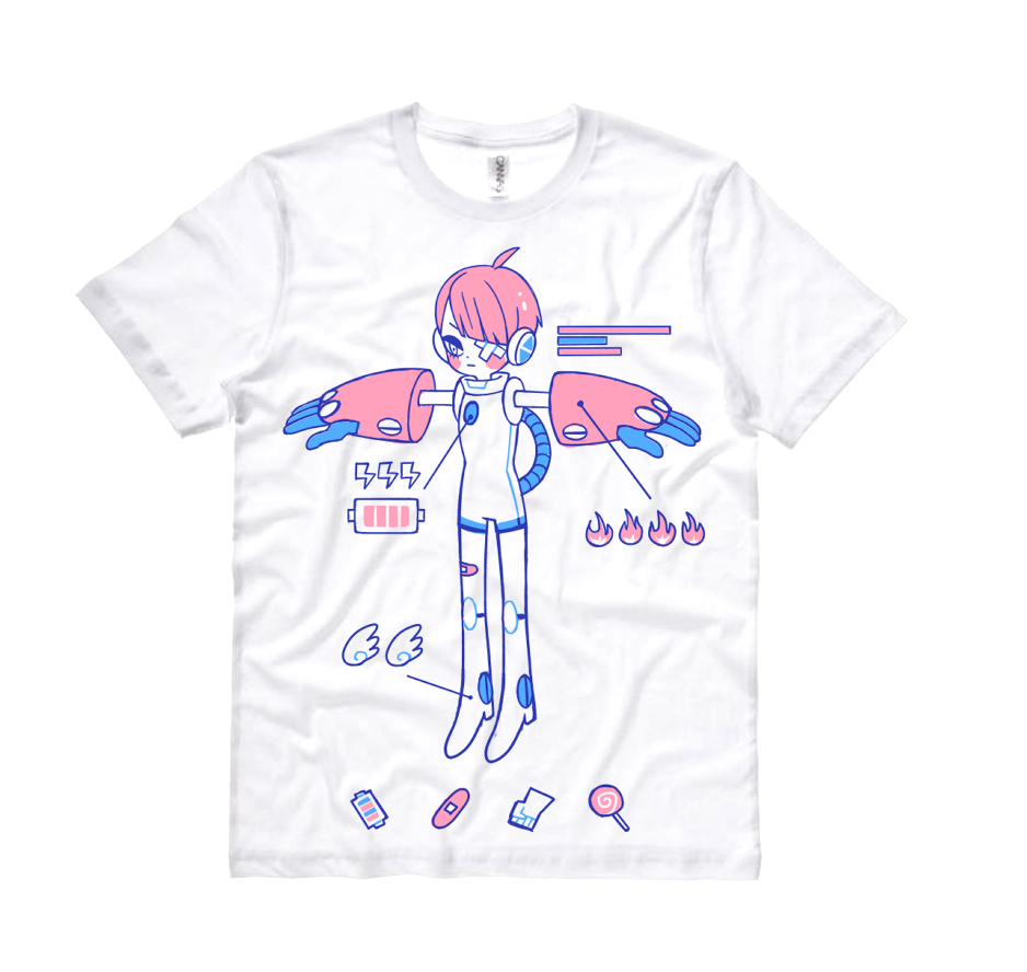 ROBO GIRL T-shirt (LAST CHANCE)