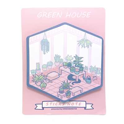 Sticky Note: Green House