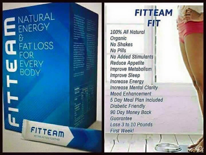FitTeam Fit Stick Organic Weight Loss Sampler Pack