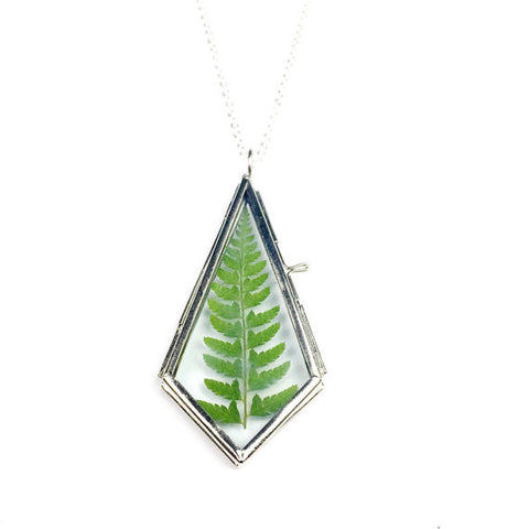Fern Locket Necklace