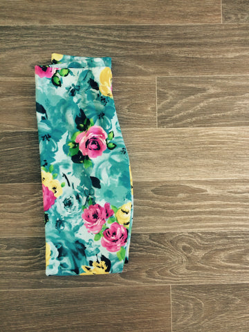 ice floral leggings