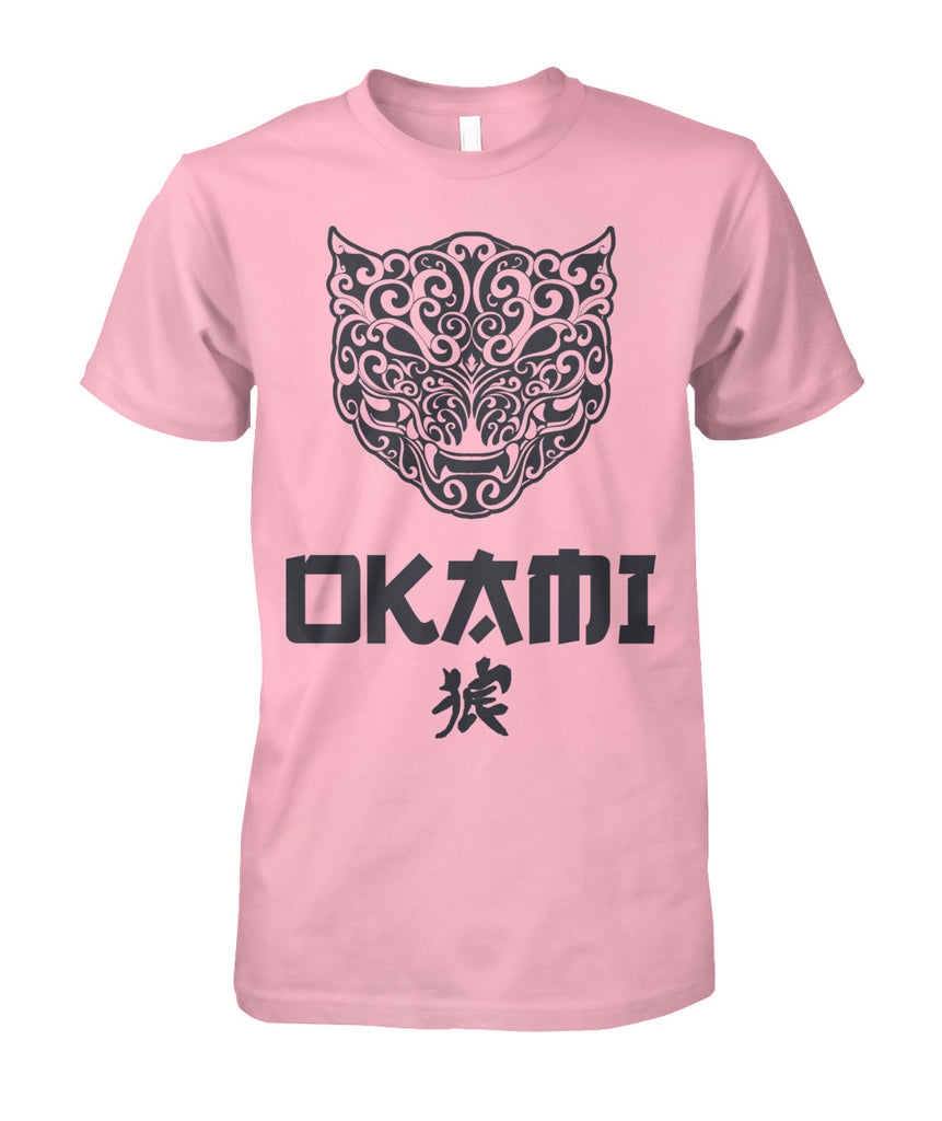 Round Neck OKAMI Brand Tee for Men