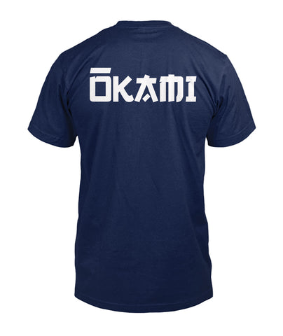 V-Neck OKAMI Knife Dark Colors for Men