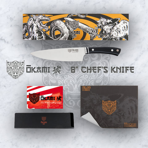 Balmung 8 Inch Chef's Knife - German Steel