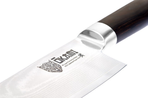 Chef's Knife 8'' - Model Nakama - Ōkami Knives  - 2
