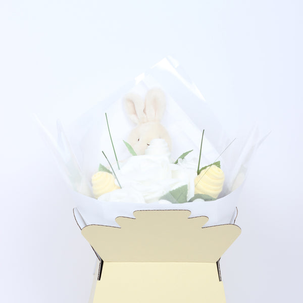 Beautiful Gender Neutral Baby Bouquet for New Baby Baby Shower or Christening Gift