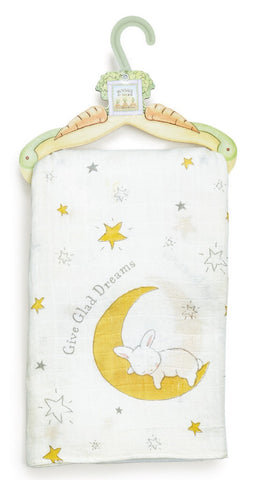Give Glad Dreams Silky Blanket