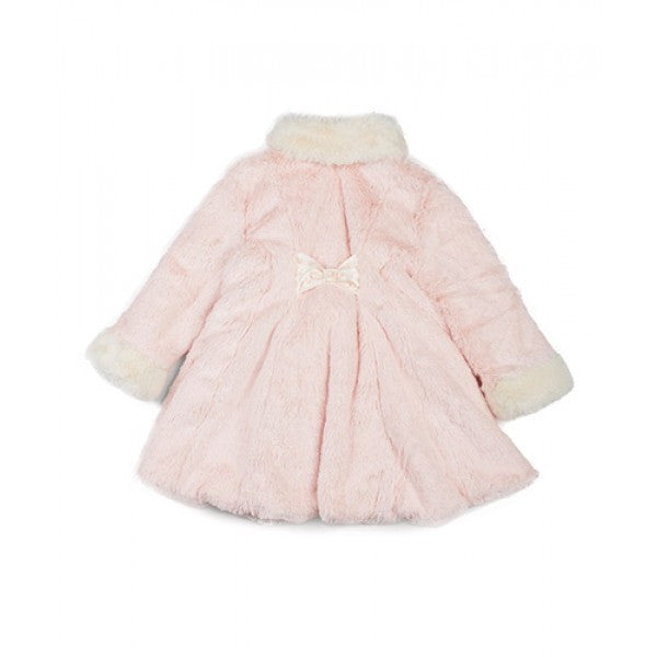 Pretty Girl Fur Coat & Hat 12-18 months