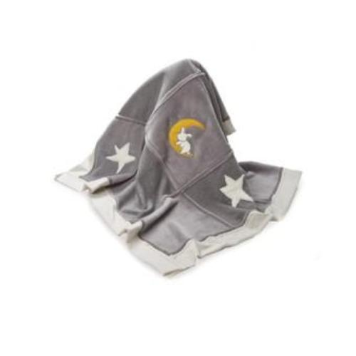 Bloom Bunny Ring Rattle Grey