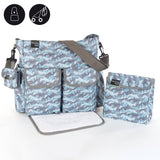 Walking Mum Boslo Cambiador Camouflage Unisex Changing Bag