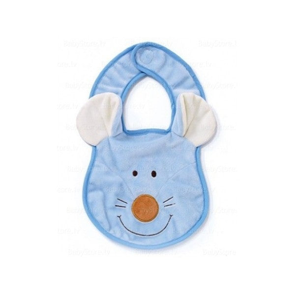Diinglisar Blue Mouse Slippers 6-12 months