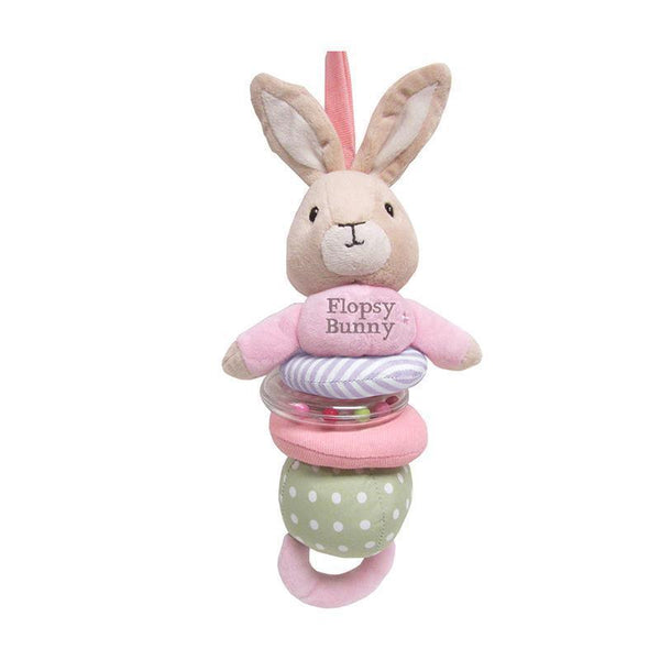 Flopsy Bunny Jiggle & Rattle Plush Toy
