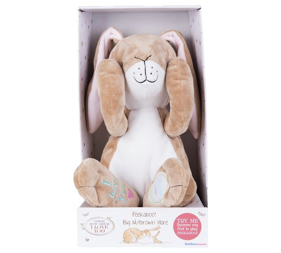 Guess How Much I Love You Large Peekaboo Nutbrown Hare