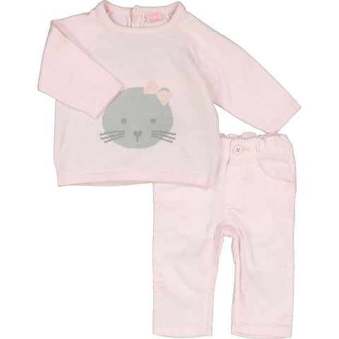 Pink Cat Outfit