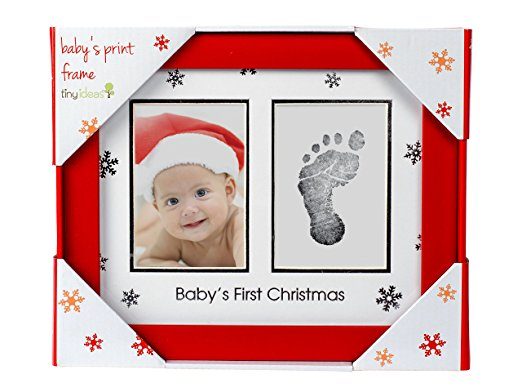 Tiny Ideas My First Christmas Frame and Print Set