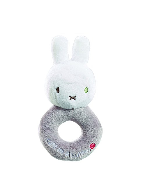 Miffy Cute As A Button Rattle Mink