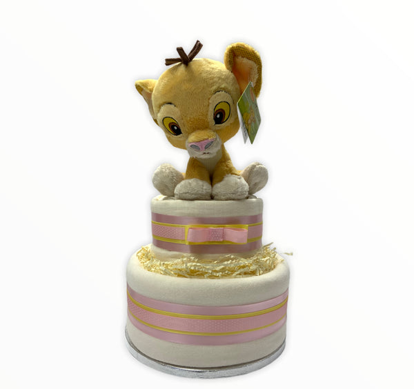 Simba by Disney 2 Tier Luxury Nappy Cake