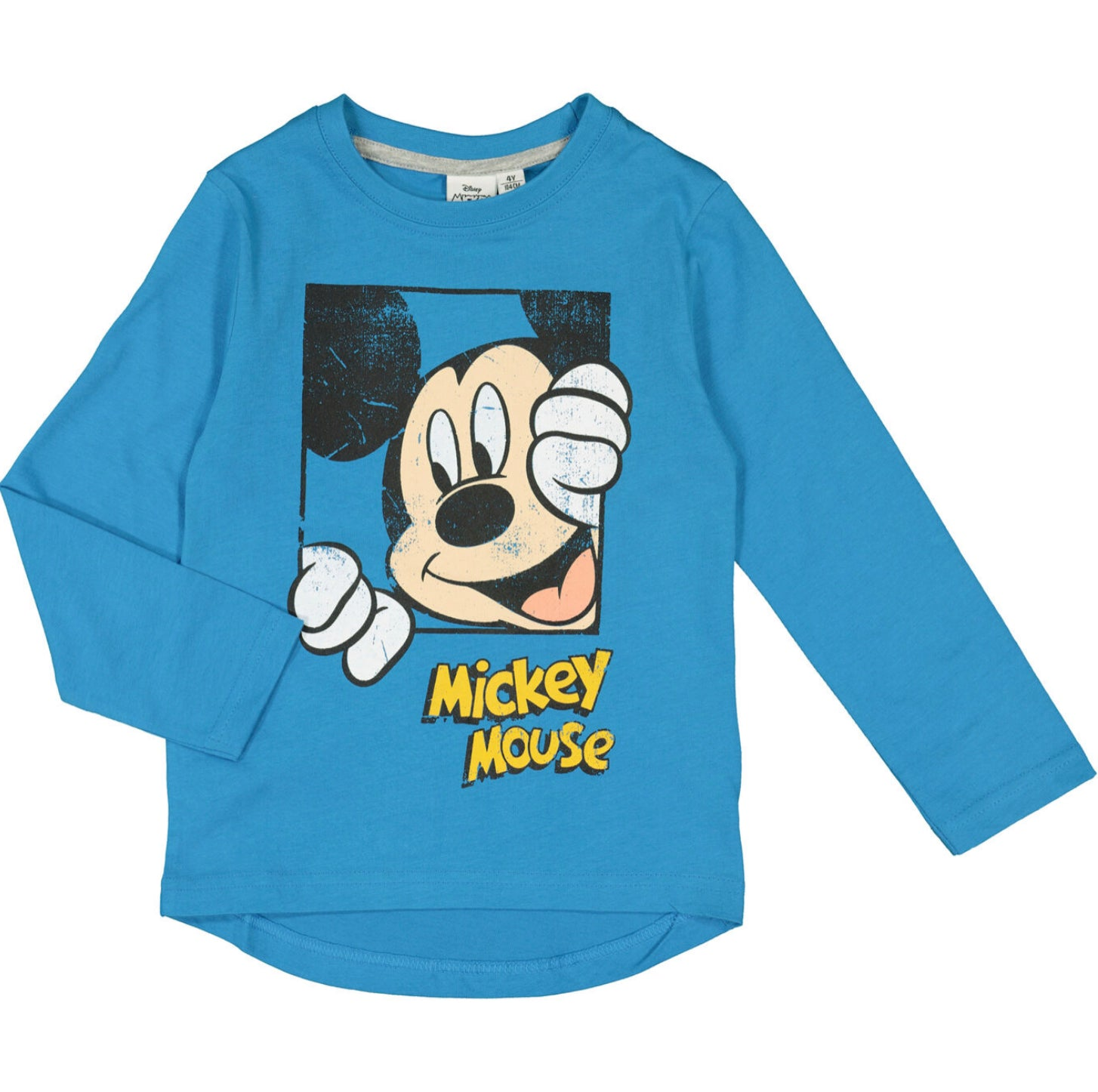 Mickey Mouse Long Sleeved T Shirt