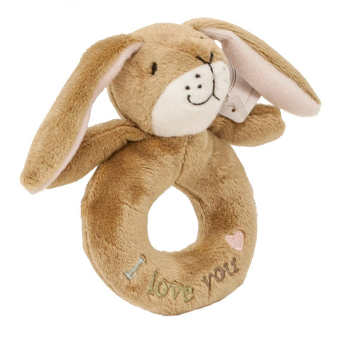 Guess How Much I Love You Little Nut Brown Hare Ring Rattle