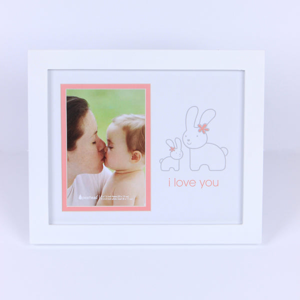 Classic Bunny Frame (White)
