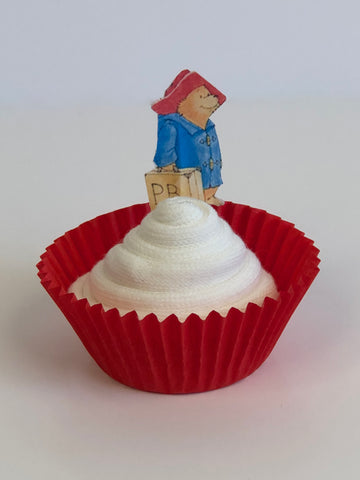 Paddington Bear Sock Cupcakes