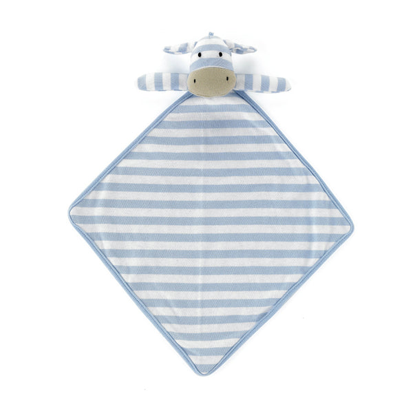 Jellycat Moo Blue Soother