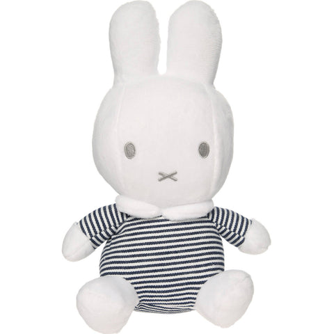 Miffy Stripes Soft Toy & Chimes Rattle