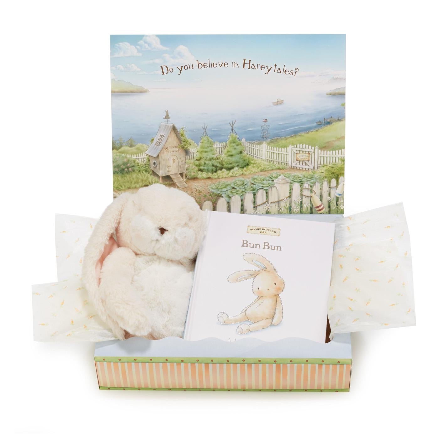 A Lovey Story - Bun Bun Book and Bunny Gifts Set