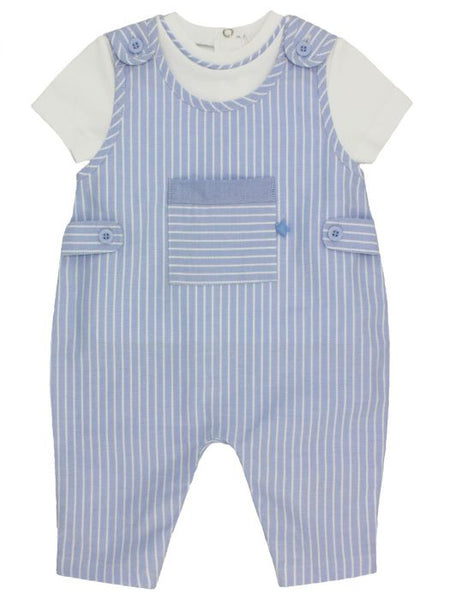 Star and Stripe 2 Piece Dungarees and T Set
