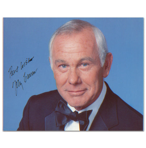 Official Johnny Carson 8x10
