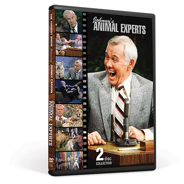 Johnny's Animal Experts - 2 DVD Collection - As Is Condition (Clearance)