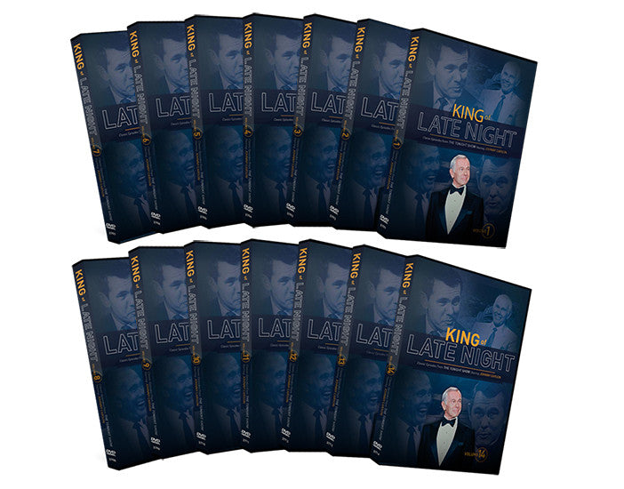 King of Late Night - 14 DVD Collectable Set