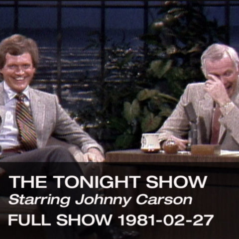 Johnny Carson | Tonight Show Episodes, Clips, DVDs ...